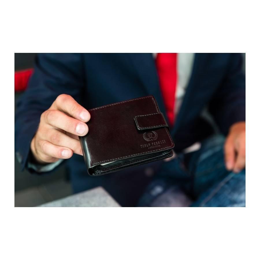 d533db51ac536 Paolo Peruzzi Ekskluzywny portfel męski Paolo Peruzzi - Merg.pl