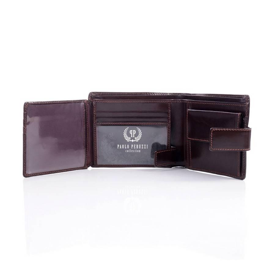 ef282a46c1d74 Paolo Peruzzi Ekskluzywny portfel męski Paolo Peruzzi - Merg.pl